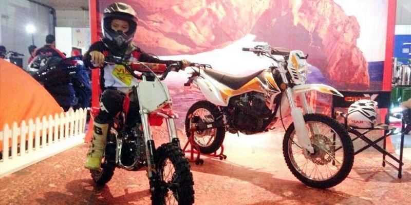 Viar Rilis Mini Trail Cross X 100 Cc Untuk Anak Anak Otomotif