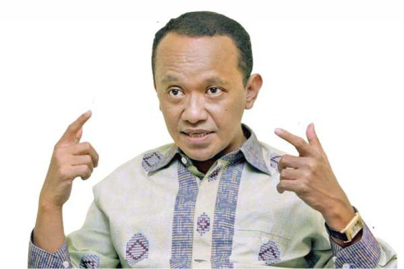 Ketua Umum HIPMI Bahlil Lahadalia