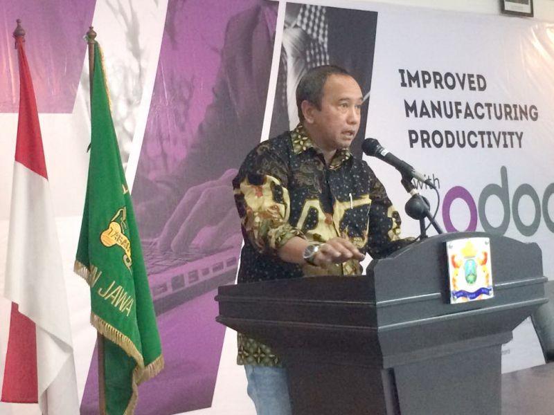 Wakil Ketua Umum Kadin Jatim Bidang Industri Kreatif, Haries Purwoko