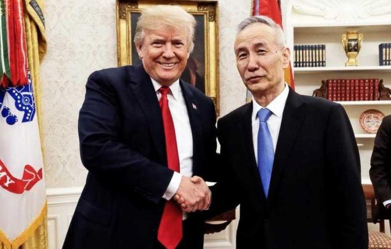 Donald Trump dan Liu He