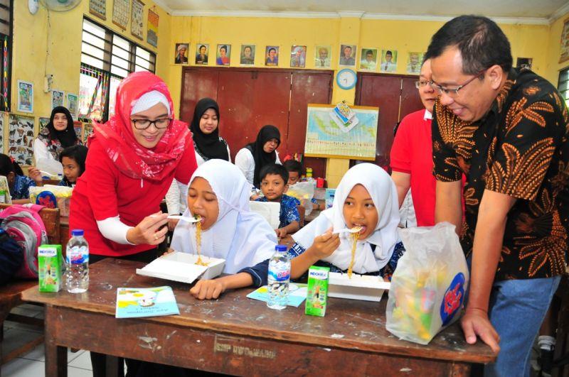 Nurulita Novi Arlaida head of corporate Public Relation PT Indofood Sukses Makmur Tbk