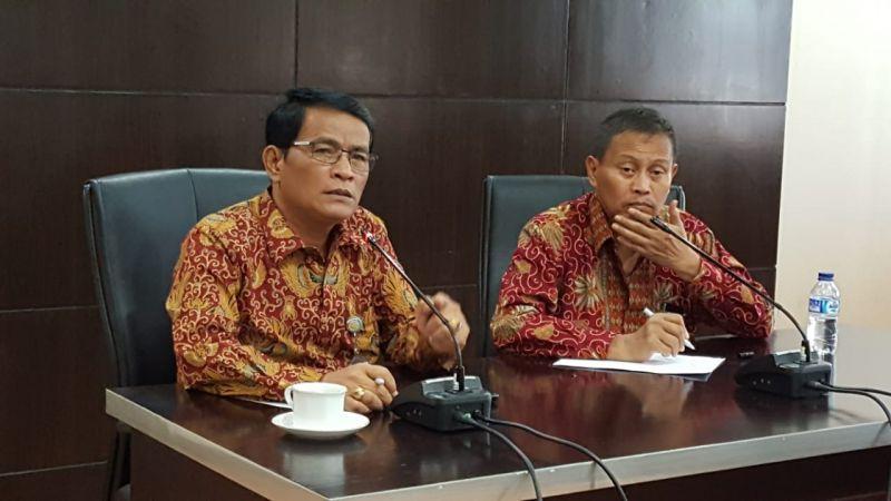 Ditjen Peternakan dan Kesehatan Hewan I Ketut Diarmita dan Direktur Perbibitan dan Produksi Ternak Sugiono.