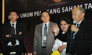 Jajaran komisaris dan direksi Bukit Darmo Property (dok. kabarbisnis.com)