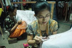 UKM batik di Kabupaten Lamongan (dok. kabarbisnis.com)