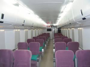 Asyik, akhir 2013 seluruh kereta api pakai AC | Transportasi