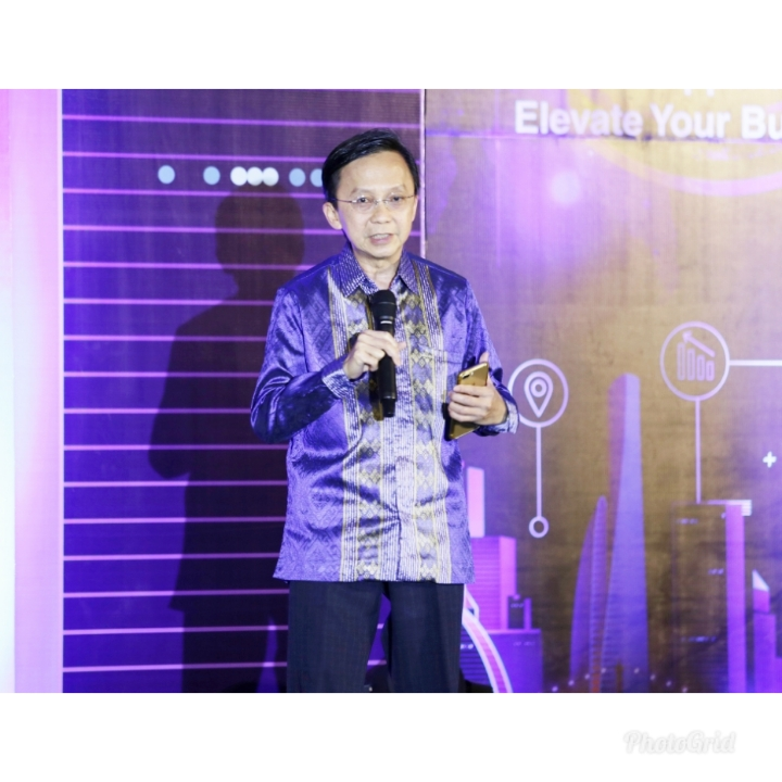 Presiden Direktur Virtus Technology Indonesia, Erwin Kuncoro.