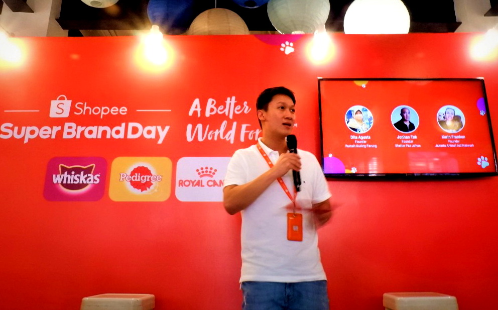 Head of Brands Management Shopee Indonesia, Daniel Minardi.